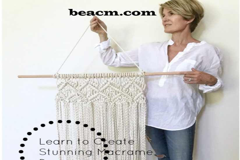 Learn how to create stunning macramé décor