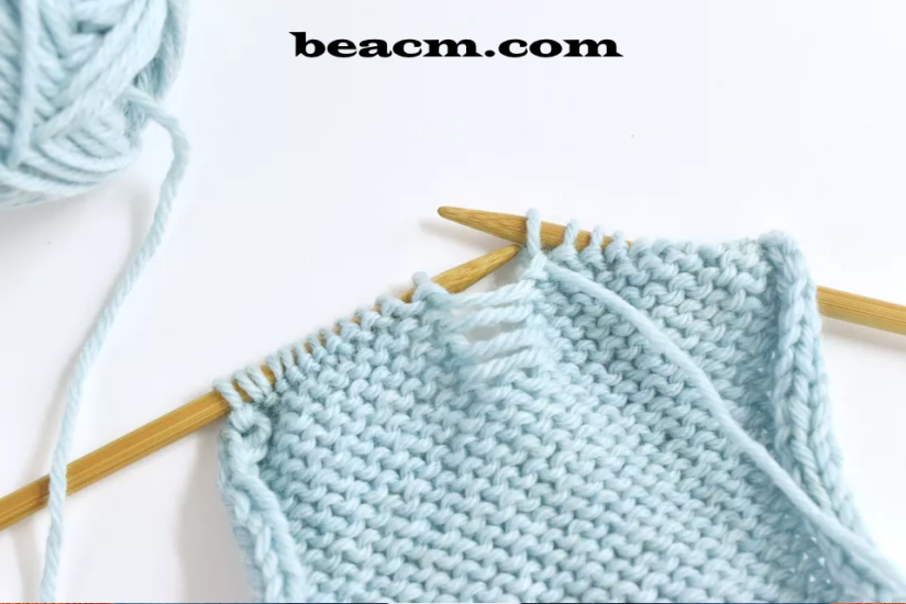 How to pick up a dropped purl stitch