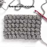 Popcorn Crochet Stitch Tutorial