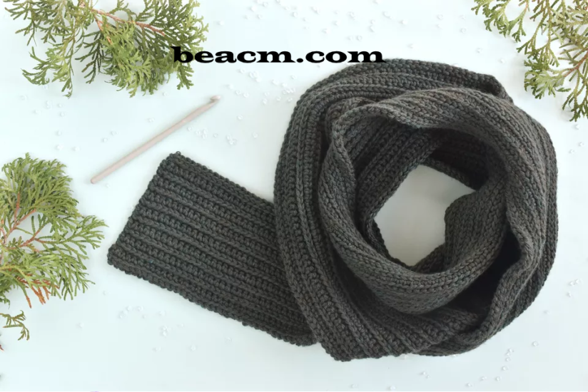 Free crochet instruction for men scarves